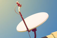 Tansor satellite dish installation costs